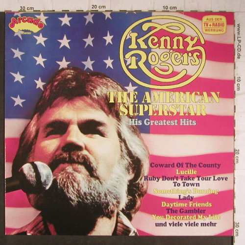 Rogers,Kenny: The American Superstars-His Gr.Hits, Arcade(ADE G 119), D,  - LP - F7896 - 5,00 Euro