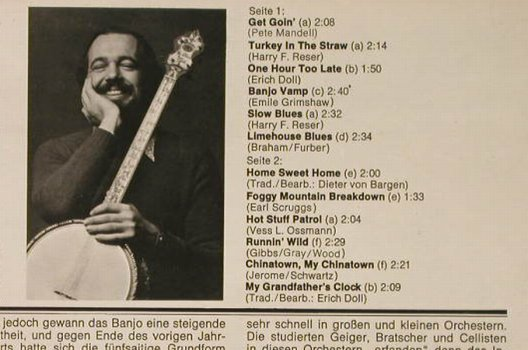 Meyer,Peter's Banjo Greetings: Get Goin, WAM(MLP 15.493), D, 1974 - LP - F9147 - 6,00 Euro
