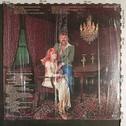 Rogers,Kenny & Dottie West: Every Time Two Fools Collide, UA(30 170 OT), D, 1978 - LP - F9362 - 5,00 Euro