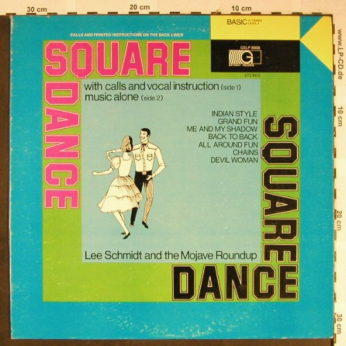 Schmidt,Lee and the Mojave Roundup: Square Dance Level 4, Gateway(GSLP 8008), US,  - LP - H2209 - 6,00 Euro