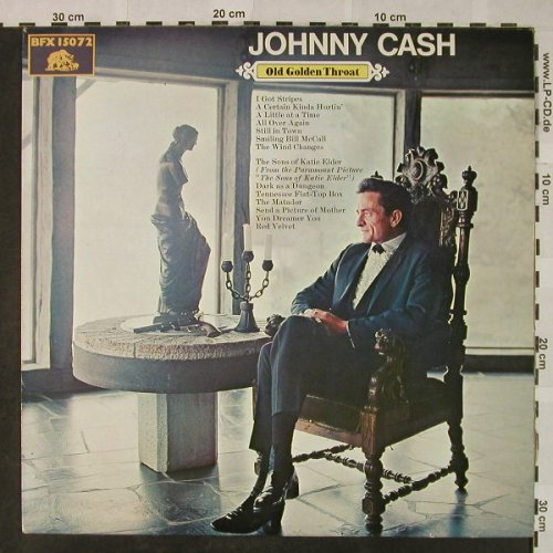 Cash,Johnny: Old Golden Throat, Bear Family/CBS(BFX 15072), D, 1981 - LP - H4785 - 9,00 Euro