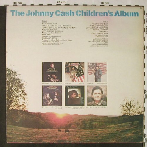Cash,Johnny: The J.C.Children's Album, CBS(CBS 80 084), NL, 1975 - LP - H4796 - 7,50 Euro