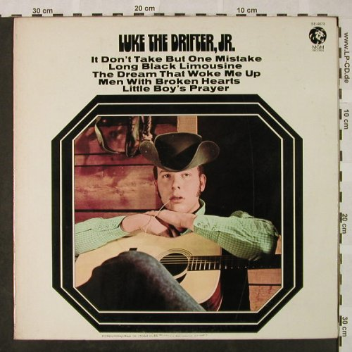 Luke the Drifter,JR.: Same (Hank Williams JR.), MGM(SE-4673), US,  - LP - H4825 - 14,00 Euro