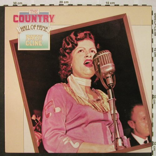 Cline,Patsy: The Country Hall of Fame, MCA(MCL 1739), D, Ri, 1979 - LP - H4842 - 6,00 Euro