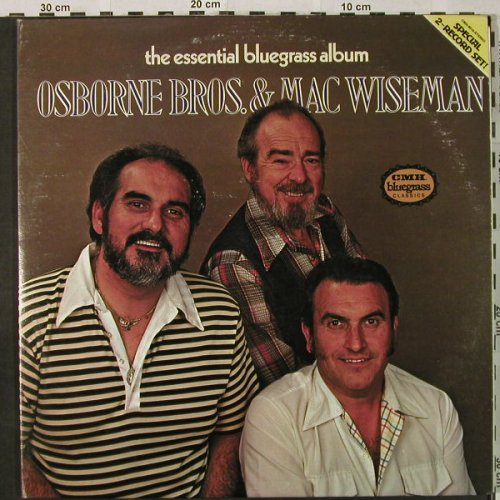 Osborne Brothers & Mac Wiseman: The Essential Bluegrass Album, Foc, CMH(CMH-9016), US, m-/vg+, 1979 - 2LP - H4844 - 7,50 Euro