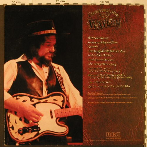 Jennings,Waylon: Greatest Hits, RCA(AHL1-3378), US, 1979 - LP - H4845 - 6,00 Euro