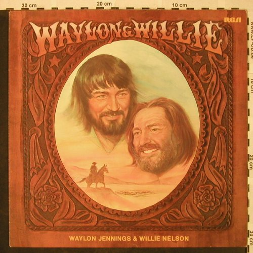 Jennings,Waylon & Willie Nelson: Wallon & Willie, RCA(PL 12686), D, 1978 - LP - H4846 - 6,00 Euro