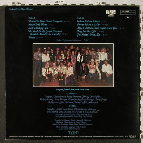Jennings,Waylon: Black On Black, m-/vg+, RCA(PL 14247), D, 1982 - LP - H4847 - 5,50 Euro