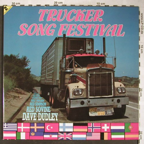 V.A.Trucker Song Festival: West Forest Country Boys-Levon Lyle, S*R(40 316 2), D, 1984 - 2LP - H5821 - 6,00 Euro