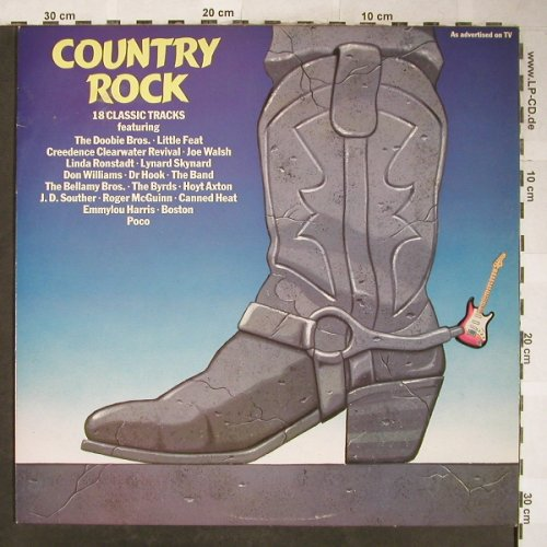 V.A.Country Rock: 18 Classic Tracks, Warwick(WW 5120), UK, 1982 - LP - H5829 - 5,00 Euro
