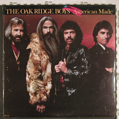 Oak Ridge Boys: American Made,Promo-Stoc,FS-New, MCA(MCA-5390), US, 1983 - LP - H8082 - 9,00 Euro