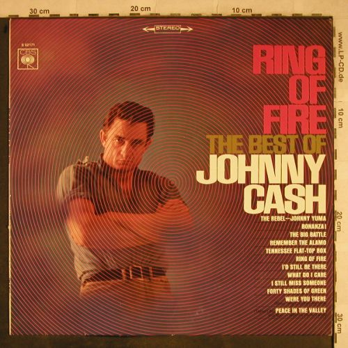 Cash,Johnny: Ring Of Fire - The Best Of, CBS(S 62171), D,  - LP - H9507 - 15,00 Euro
