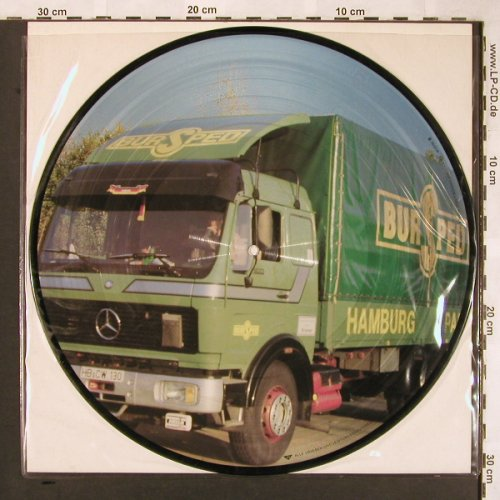 V.A.Trucker's Favourites: Western Union...Dave Dudley,Picture, extra records&tapes(66.23789), D,BURSPEED, 1986 - PLP - X1698 - 6,00 Euro