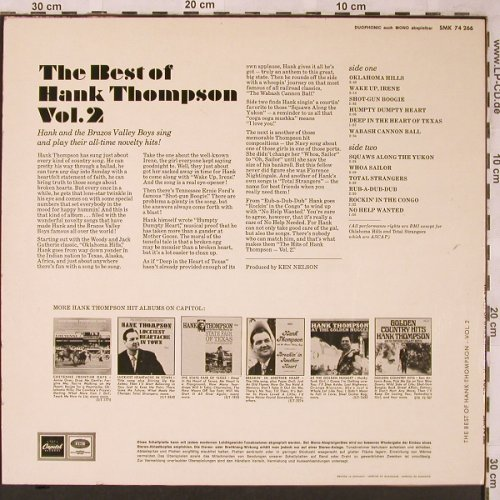 Thompson,Hank: The Best of Vol.2, Capitol(SMK 74 266), D,  - LP - X1989 - 12,50 Euro