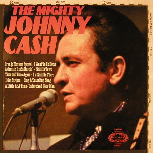 Cash,Johnny: The Mighty, Hallmark(SHM 804), US/UK, 1971 - LP - X2394 - 6,00 Euro
