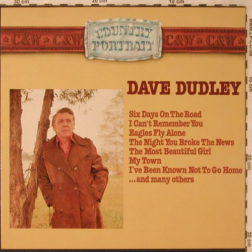 Dudley,Dave: Country Portrait, SR(29 384 5), D, 1982 - LP - X2736 - 5,50 Euro