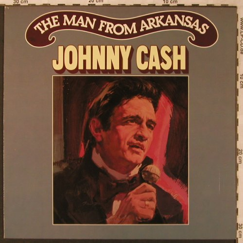 Cash,Johnny: The Man From Arkansas, Club Ed., CBS(CL 917351), NL, 1982 - LP - X2739 - 7,50 Euro