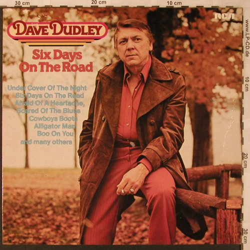 Dudley,Dave: Six Days on the Road, RCA Camden(CL 30078), D, 1981 - LP - X2740 - 5,00 Euro