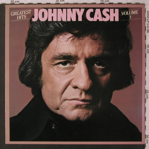 Cash,Johnny: Greatest Hits Volume 3, CBS(CBS 83 274), NL, 1978 - LP - X2903 - 6,00 Euro