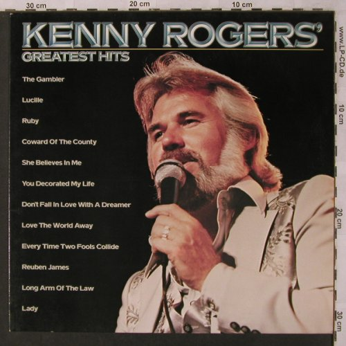 Rogers,Kenny: Greatest Hits, UA(064-83003), NL,  - LP - X2909 - 5,00 Euro