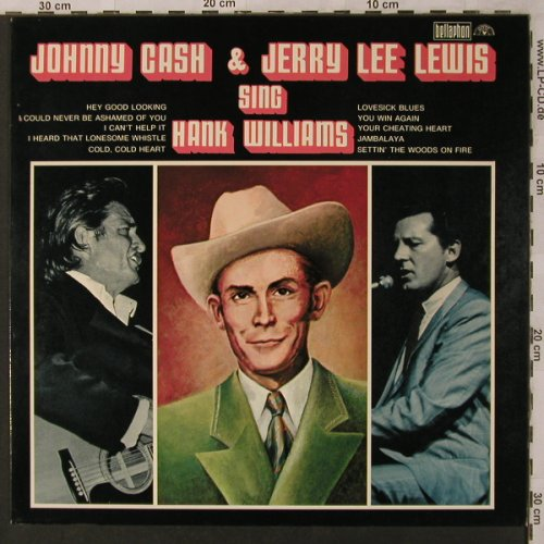 Cash,Johnny & Jerry Lee Lewis: sing Hank Williams, Bellaphon(BI 1572), D, Mono, 1971 - LP - X2915 - 9,00 Euro