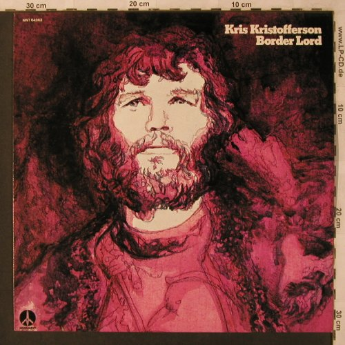 Kristofferson,Kris: Border Lord, Monument(MNT 64963), NL, 1974 - LP - X2921 - 7,50 Euro