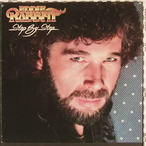 Rabbitt,Eddie: Step By Step, Mercury(6302 152), D, 1981 - LP - X3365 - 5,00 Euro