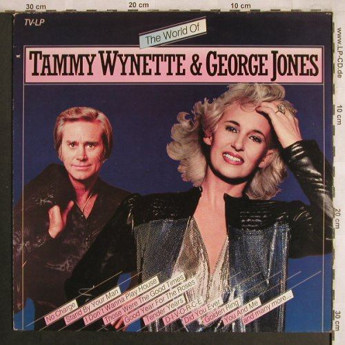 Wynette,Tammy & George Jones: The World of, Arcade(ADEH 95), NL, 1982 - LP - X4172 - 5,50 Euro