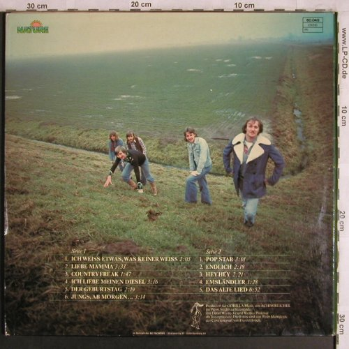 Emsland Hillbillies: Endlich,Foc, Nature(60.049), D, 1977 - LP - X4468 - 7,50 Euro