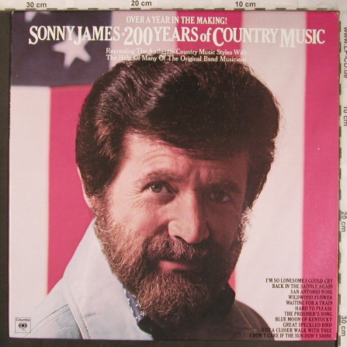 James,Sonny: 200 Years of Country Music, Columbia(PC 34035), US, 1976 - LP - X4505 - 7,50 Euro