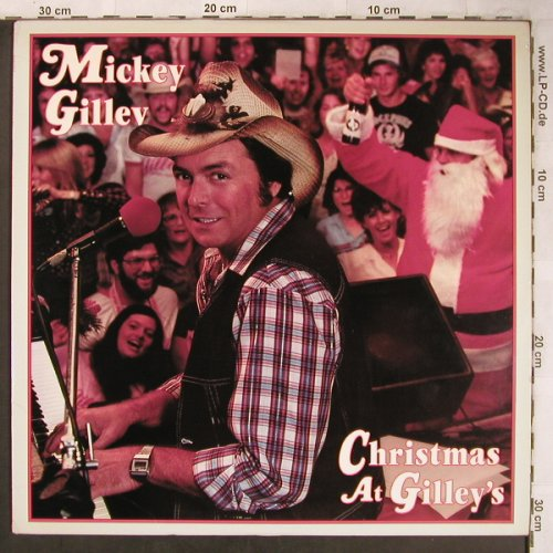 Gillev,Mickey: Christmas at Gilley's, Epic(PE 87595), US,  - LP - X4951 - 7,50 Euro