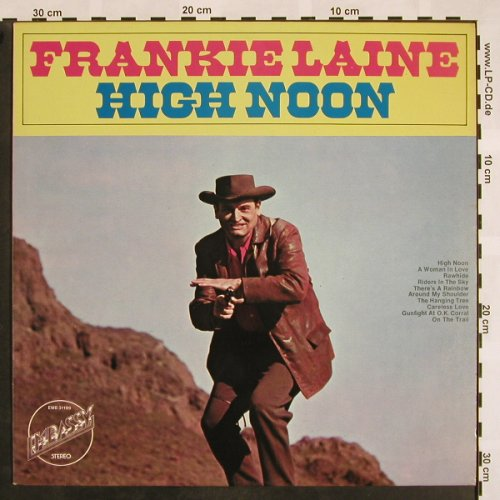 Laine,Frankie: High Noon, Embassy(31199), NL, 1971 - LP - X803 - 5,00 Euro