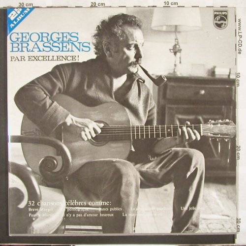 Brassens,Georges: Par Excellence!, Foc, Philips(6622 011), NL,  - 2LP - C3939 - 9,00 Euro