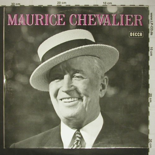 Chevalier,Maurice: Same, wh.Muster, Decca(SLK 16 446-P), D,  - LP - C5524 - 9,00 Euro