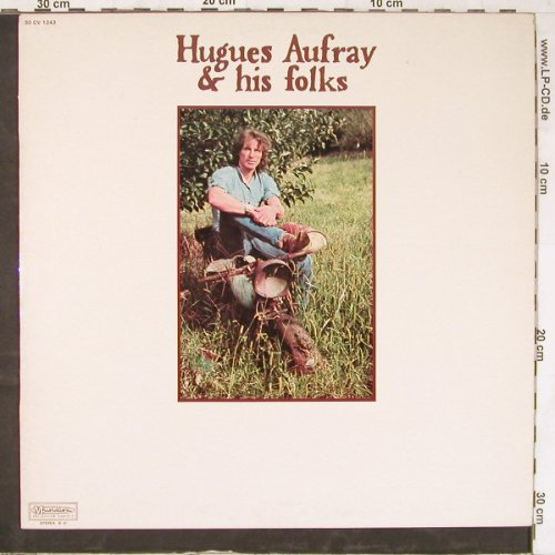 Aufray,Hugues & his Folks: Same, Musidisc(30 CV 1243), F,  - LP - E4960 - 6,00 Euro