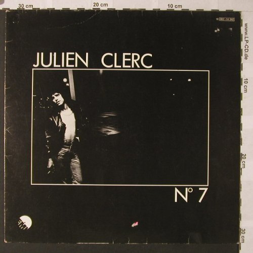Clerc,Julien: No.7, m-/vg+, EMI(062-14 242), D, 1975 - LP - F130 - 5,00 Euro