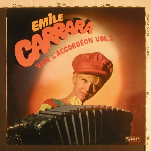 Carrara,Emile: Vive L'Accordeon Vol.2, Varieton(SPS 1287), F,  - LP - F6126 - 5,50 Euro