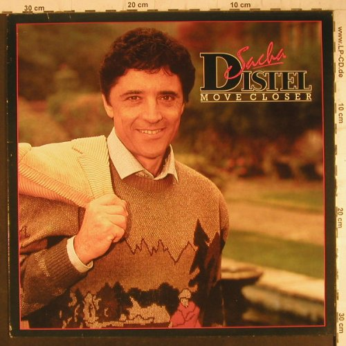Distel,Sascha: Move Closer (english), Towerbell(TOWLP 16), UK, 1985 - LP - F6482 - 6,00 Euro