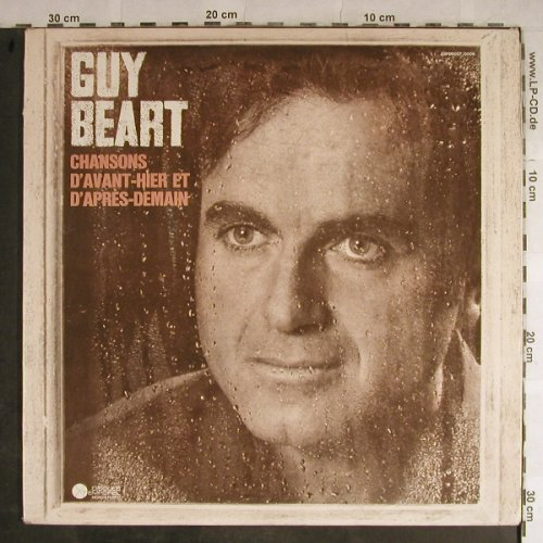 Guy Beart: Chansons D'Avant-Hier et D'Apres.., Disques Temporel(GB 00007/8), F, Foc,  - 2LP - H9030 - 7,50 Euro