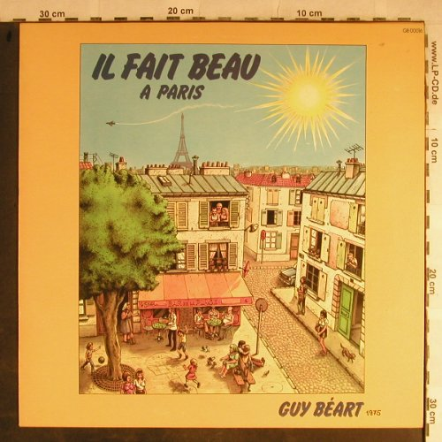 Guy Beart: IL Fait Beau a Paris, Disques Temporel(GB 00016), F, 1975 - LP - H9090 - 7,50 Euro