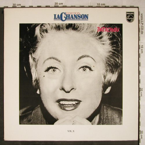 Patachou: Edition La Chanson Vol.X, Philips(9198 369), D, Ri,  - LP - H9376 - 5,50 Euro