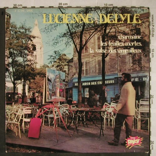 Delyle,Lucienne: Same, Charmaine..., vg+/vg+, Punch(C 046-12454), F, 1973 - LP - H9389 - 5,00 Euro