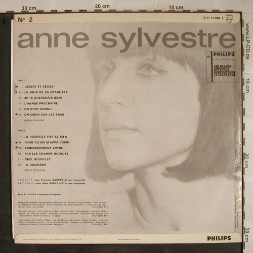 Sylvestre,Anne: Same, vg-/vg+,woc,plays well, Philips(P 77.866 L), F, Mono,  - LP - H9394 - 5,00 Euro