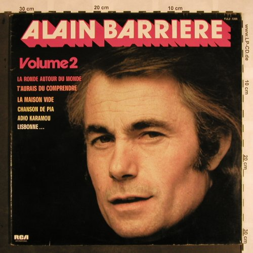 Barriere,Alain: Vol.2, Foc, RCA International(FJL2 7206), F, 1976 - 2LP - X1087 - 7,50 Euro
