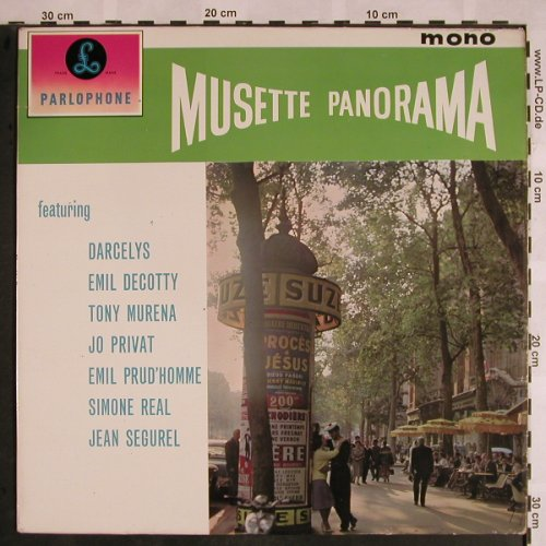 V.A.Musette Panorama: Emile Prud'homme...Jean Segurel, Parlophone(PMC 1167), UK,Mono, 1961 - LP - X1099 - 12,50 Euro