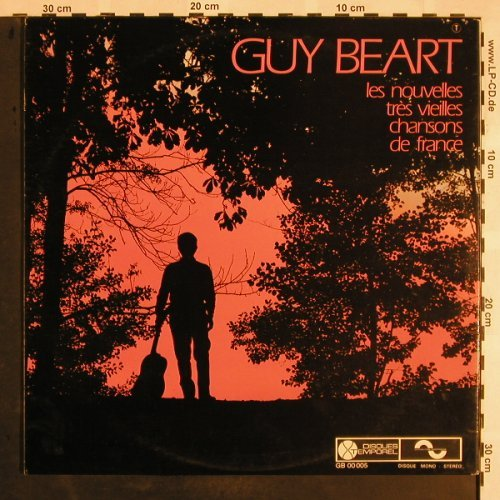 Guy Beart: V'La L'Joli Vent, Foc, Disques Temporel(GB 00005), F, 1968 - LP - X1179 - 7,50 Euro