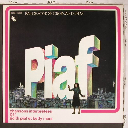 Piaf,Edith By V.A. - Betty Mars: Bande Sonore Orig.du Film, EMI(C 062-15308), D, 1974 - LP - X4875 - 6,50 Euro