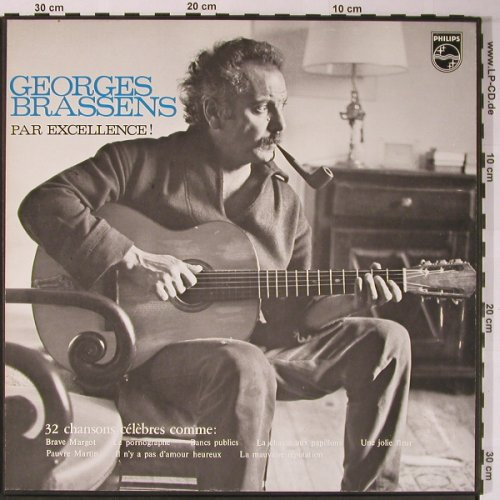 Brassens,Georges: Par Excellence!, Box, Philips(C-72-CX-235), NL,  - 2LP - X5921 - 12,50 Euro