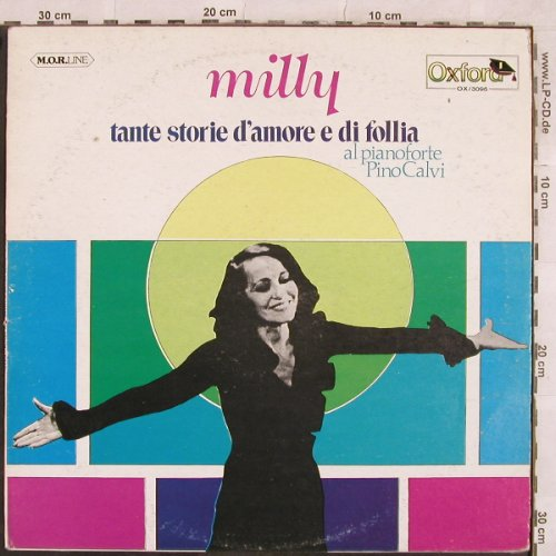 Milly: Tante storie d'amore e di follia, Oxford(OX 3096), I, m-/vg+, 1978 - LP - X287 - 5,50 Euro