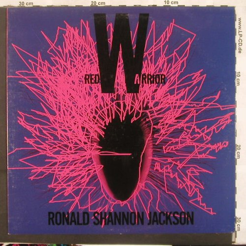 Jackson,Ronald Shannon: Red Warrior, Axiom(539 872-1), US, 90 - LP - C5474 - 7,50 Euro